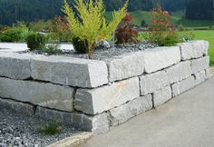 Quadersteine / Blockwurf formwild - NATURA STEIN AG