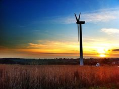 The Closest ill get to Heaven - Photograph taken by Paul Musgrave of www.muzzyimages.co.uk #photo #landscape #sunset #windmill