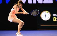 Maria Sharapova, 2R, 20 January 2016.