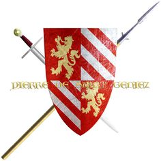 Pierre de Saint Geniez. This Lord of Quercy took the Cross in 1248 to join the sixth crusade.
