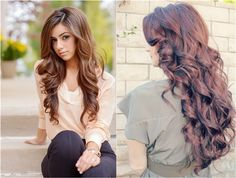 loose wavy for girls with clip in wavy 22 inch brown hair extension. I am seriously thinking about getting extensions because I just can't wait a year to have long hair guysss