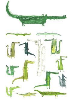 drawings croco
