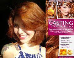 NavegaçãoLinhas de Tintas L'OréalLinha ParisCasting Creme Gloss de L'Oréal ParisOutros Produtos da L'Oréal que se destacam no mercadoExistem marcas que se tornam praticamente o modelo a ser seguido por outras de menor expressão por sua qualidade e excelência nos produtos. Assim é a tintura L'Oréal que há anos cuida dos cabelos femininos deixando as mulheres ainda … Ginger Hair Dyed, Ginger Hair Color, Red Hair Color, Dyed Hair, Loreal Casting Creme Gloss, Pelo Color Caramelo, Irish Redhead, Cabello Hair, Makeup