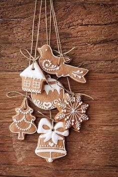 Ginger bread ornaments