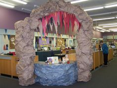 Dig Into Reading Summer Reading Program 2013 - Underground; Cave Entrance; Stalagmites & Stalactites https://www.facebook.com/SalemTownshipPublicLibrary