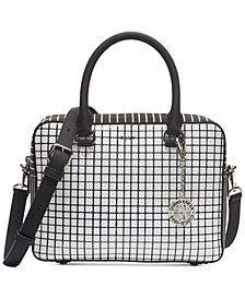 8b3b3066f1da DKNY Bryant Sutton Leather Top Zip Crossbody