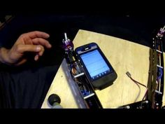 Motor balancing with use Seismometer App - YouTube