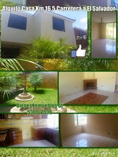 CASAS GT: Alquilo Casa Km 16.5 Carretera a El Salvador Q4800...