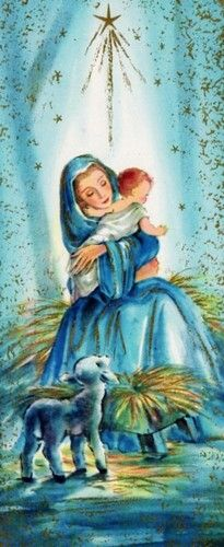 """Mary, did you know that your baby boy will one day rule the nations?"""