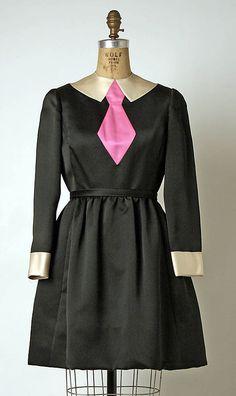 Dress  Geoffrey Beene (American, 1927–2004)  Date: fall/winter 1971–72 Culture: American Medium: silk