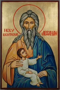 Home / Hand-Painted Icons / Male Saints / Holy Righteous Abraham