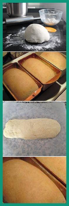 Recetas de pan casero: nunca comprarás pan otra vez  #receta #recipe #casero #torta #tartas #pastel #nestlecocina #bizcocho #bizcochuelo #tasty #cocina #cheescake #helados #gelatina #gelato #flan #budin #pudin #flanes #pan #masa #panfrances #panes #panettone #pantone #panetone #navidad #chocolate Si te gusta dinos HOLA y dale a Me Gusta MIREN... Pan Bread, Bread Cake, Venezuelan Food, Cooking Bread, Types Of Bread, Pan Dulce, Bakery Recipes, Latin Food, Food Humor