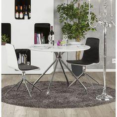 Faites une pause, café ou thé de toute façon tout va avec la table ronde Minou. Meuble design, la table moderne ronde Minou est en bois peint et métal (blanc) http://ift.tt/1XmyOcU
