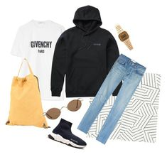 """""""<3"""" by silje-bjorkelid on Polyvore featuring Givenchy, Billabong, Balenciaga and Casio"""