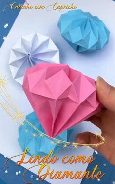 Instruções Origami, Origami And Kirigami, Paper Crafts Origami, Whale Origami, Origami Human, Origami Crown, Heart Origami, Paper Flowers Craft, Paper Crafts For Kids