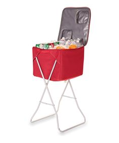 Take a look at this Red Party Cube Portable Party Cooler on zulily today!