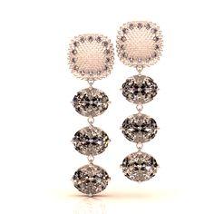 CHIC 'DOMINA' DROP EARRINGS, 18K White Gold, Diamonds (.42ct), Aquamarine (13.5ct) $5373 #luxury #diamonds #finejewelry #bridal #wedding #bling #women #haute #fashion #travel #snakeskin #style #like #amazing #imagine #shopping #instadiary #instajewelry #styleblog #fashionblog #model #fashiondiary #igfashion #swagger #jewellery