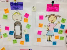 comparing/contrasting children then and children now