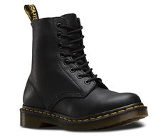 Dr. Martens, PASCAL BLACK. $135. The leather is so soft, didn't even need to break them in!