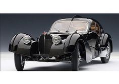 Bugatti 57S Atlantic 1936 Black 1:18
