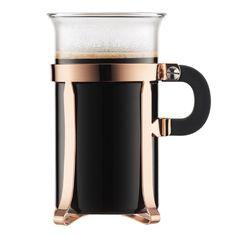 CHAMBORD 2 pcs coffee glass, large, 0.3 l, 10 oz Copper