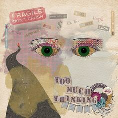 This is thwe first time I\'ve created eyes myself with Photoshop; I usuaqlly use a kit with eyes if I want eyes in a layout. Credits: Gloomy Days by Magical Scraps Galore, Find Your Voice by Leaving A Legacy Designs, Oh The Places You Won't Go by Leaving A Legacy Designs