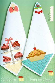 Livro Barrados para Pano de Prato por Samar Kauss   - 36 novos motivos para barrados com riscos e sugestão de cores. - Apresentação de técnica inédita para suporte do pano de prato. - Explicação passo a passo com dicas importantes. - Acompanha encarte em tamanho real.   - Número de Páginas: 47   <strong>Fabricante: </strong>Happy Quilter Dish Towels, Hand Towels, Tea Towels, Applique Designs, Quilting Designs, Crafts To Make, Diy Crafts, Sewing Projects, Projects To Try