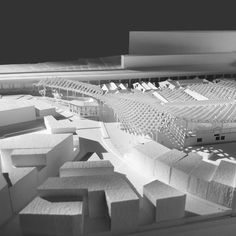 Image 8 of 24 from gallery of Kengo Kuma and OODA Win Competition to Redevelop Porto Slaughterhouse. Image Courtesy of Kengo Kuma & Associates + OODA Kengo Kuma, Win Competitions, Local History, Portugal, The Neighbourhood, Architectural Models, Architecture, Gallery, Building