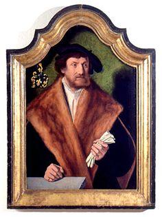 Portrait of Balthasar von Kerpen, c. 1538, Barthel Bruyn the Elder, Cologne