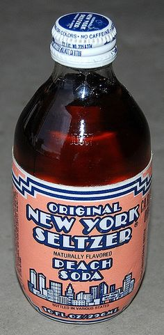 Original New York Seltzer- These were amazingly good. The neighborhood kids would walk to Cogo's for these ;)