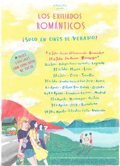 Los Exiliados Románticos de gira veraniega.