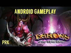 HEROES OF THE ALPHA ARENA Android Gameplay / Partida de HEROES OF THE ALPHA ARENA - YouTube #androidgame #android #mobile #gaming #rpg #galaxys6 #s6edge