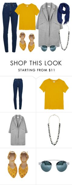 """Senza titolo #2067"" by alscouture ❤ liked on Polyvore featuring Wood Wood, Monki, Topshop and La Fiorentina"