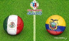 Where to find Mexico vs. Ecuador on US TV and Internet Mexico vs Ecuador Lionel Messi, Bolivia, Ecuador, Jamaica, Chile 2015, Full Match, Watches Online, Soccer Ball, Lineup