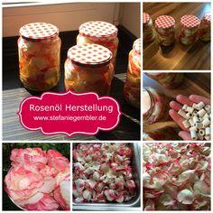 Rosenöl Selber MachenIm Sommer kann man wunderbar aus frischen Rosenblüten sein eigenes Rosenöl herstellen.Das Ätherische Rosenöl wird vor allem aus der Ros