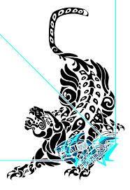 Resultado de imagen para jaguar maya tattoo