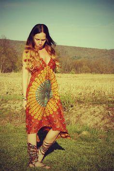 Love the hippie dress