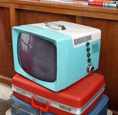 Vintage 50s television