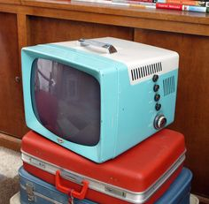 Vintage 50s television