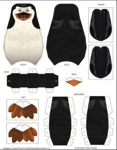 Cómo hacer un pingüino en 3D - ✿⊱╮
