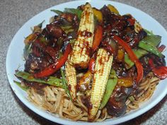 Creative Home Cooking With Ibty: Beef Stir Fry with Noodle