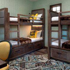 "Bunk beds at The Wayfarer, a ""poshtel"" (posh hostel) Santa Barbara"