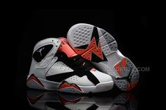 outlet store 66288 4e7d4 Buy New 2016 Nike Air Jordan 7 Retro GS White Black Red Sneakers Kids  Basketball Shoes from Reliable New 2016 Nike Air Jordan 7 Retro GS White  Black Red ...