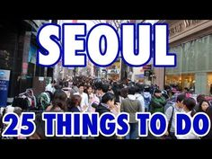 Check out my Seoul travel guide and tips at this link: http://migrationology.com/2012/05/seoul-travel-guide/ - All my personal Seoul travel tips and suggestions!    Seoul, South Korea, is truly an amazing city to visit! It's modern, easy to navigate and there's little something everyone will enjoy. The Seoul subway system makes it easy to get arou...