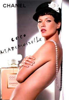 Kate Moss for Chanel Coco Mademoiselle Campaign by Dominique Issermann, 2005
