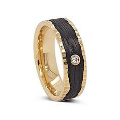 Carbon Apricot Gold Diamond Wedding Ring – Celtic Jewelry by Boru ® Irish Wedding Rings, Diamond Wedding Rings, Ring Shapes, Jewelry Rings, Rings For Men, Engagement Rings, Stone, Gold, Enagement Rings