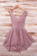 Sirenlondon — Smart Mauve Dress - Back in Stock Soon