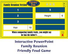 Christmas Friendly Feud Game Two Family Feud  Interactive