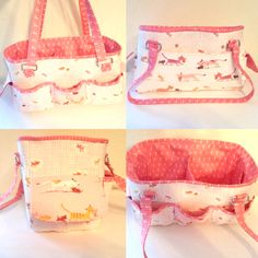 Sew Sweetness Oslo Craft Bag sewing pattern, sewn by Tiffany
