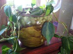Frank Moreno drip glaze planter